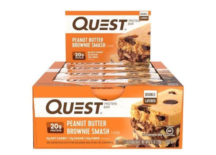 Protein Bar cx/ c 12 und Quest Nutrition
