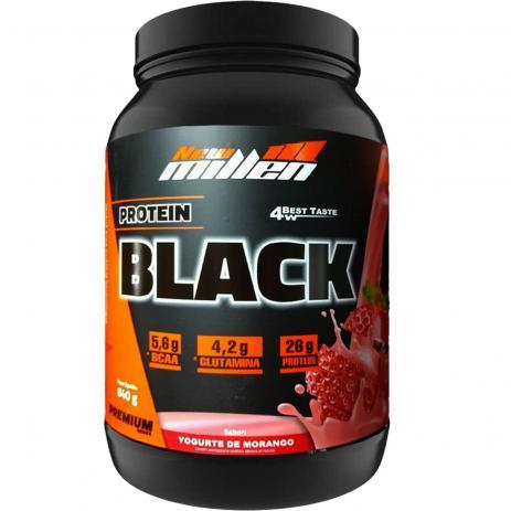 Protein Black 840g New Millen
