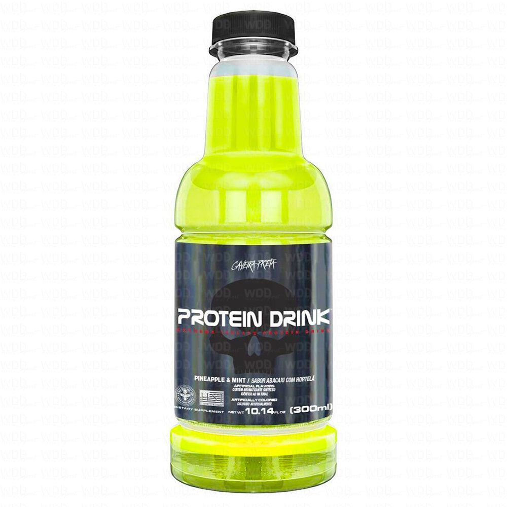 Protein Drink Isolado 300ml Black Skull