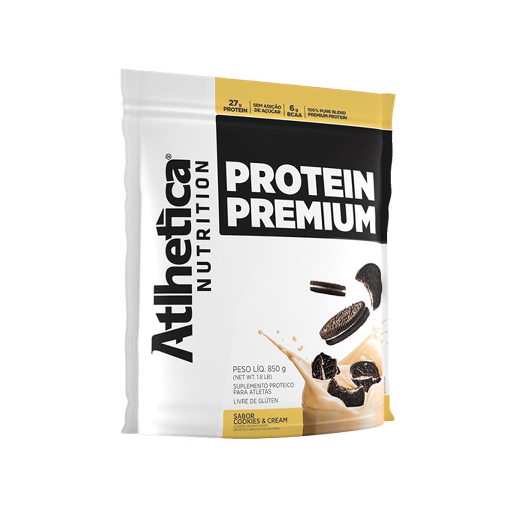 Protein Premium Refil 850g Atlhetica Nutrition