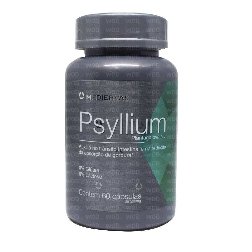 Psyllium 500mg 60 caps Mediervas