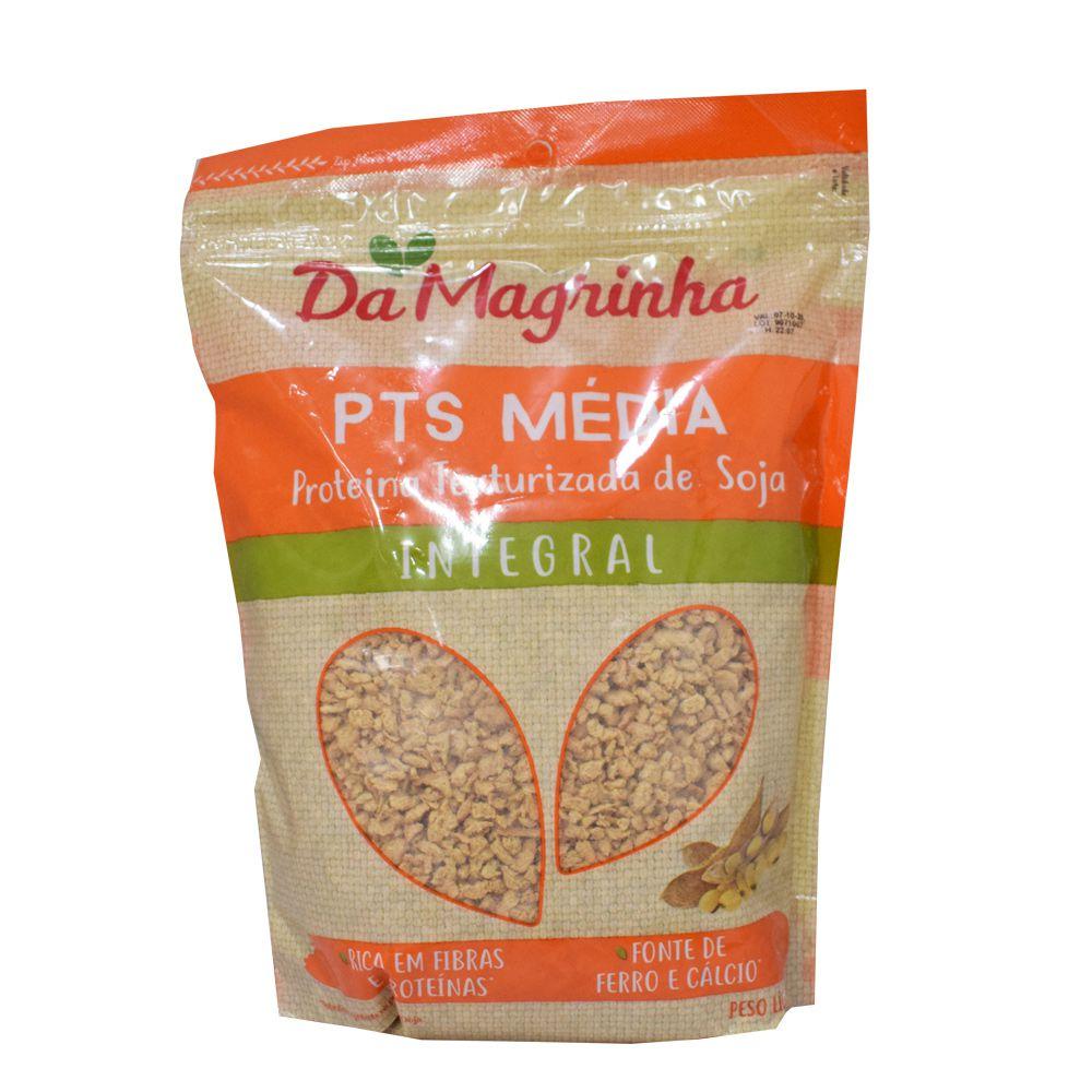 PTS Média Proteína Texturizada de Soja 500g Da Magrinha