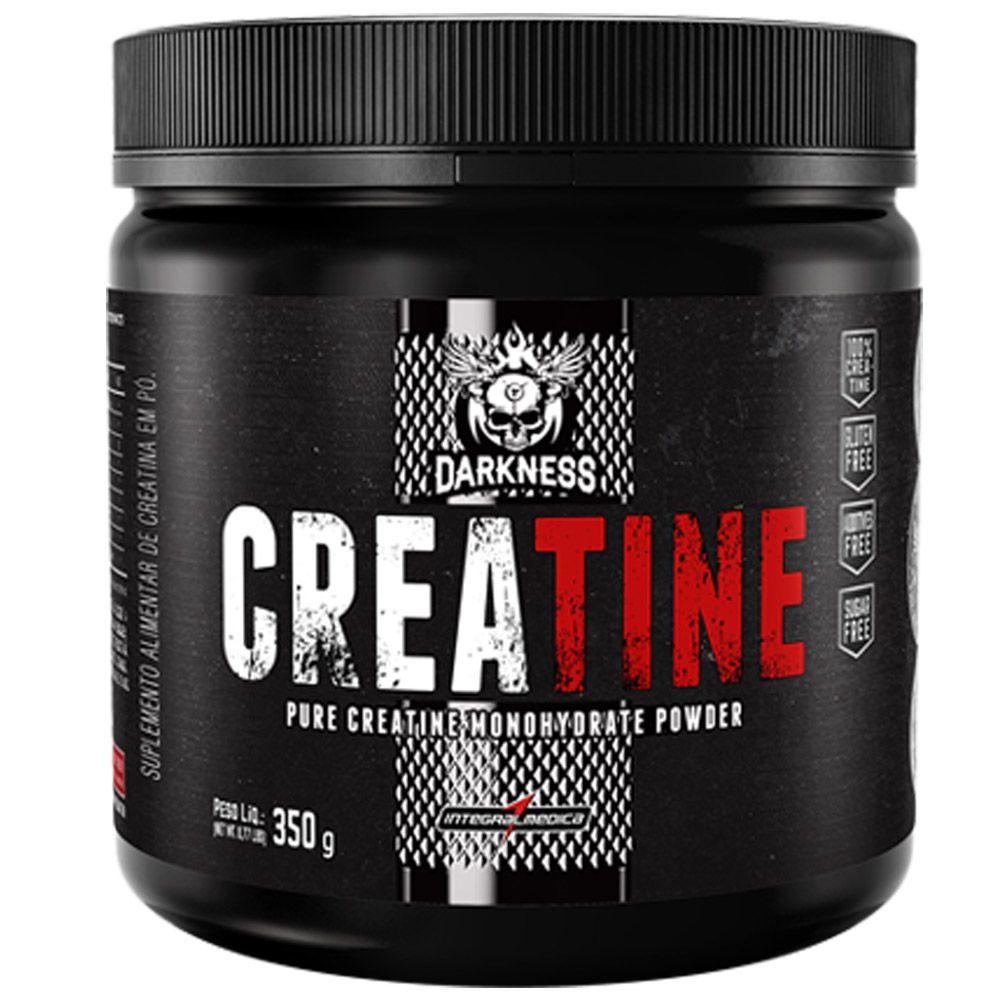 Creatine Pure Monohydrate Powder Darkness 350g Integralmedica