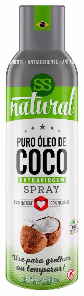 Puro Óleo de Coco Spray 128ml SS Natural