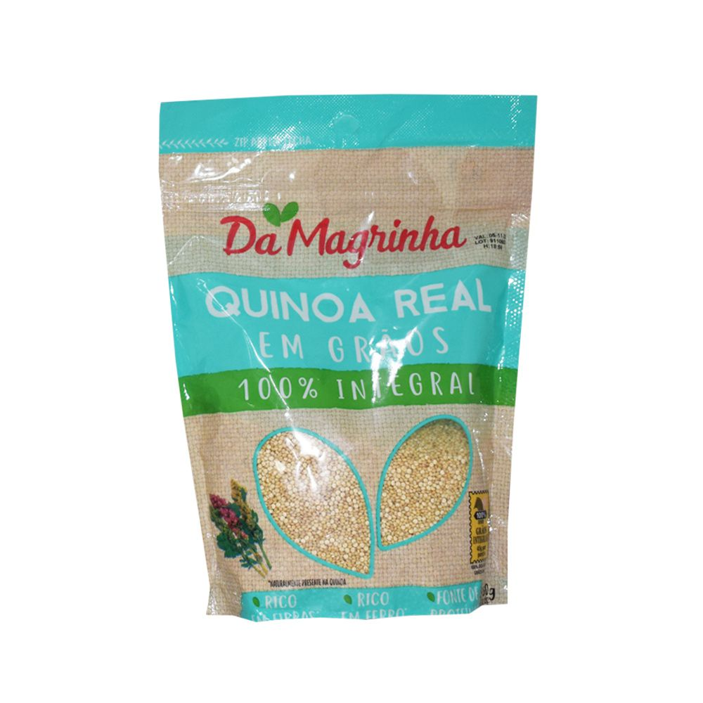 Quinoa Real em Grãos 100% Integral 350g Da Magrinha