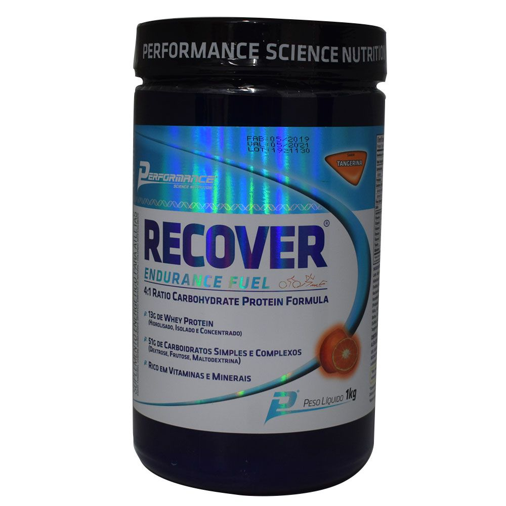 Recover Endurance Fuel 1kg Performance