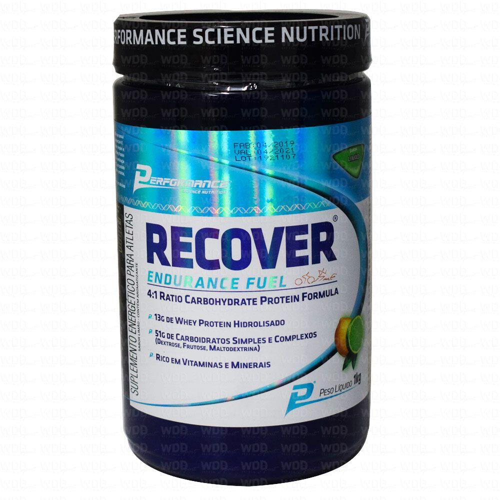 Recover Endurance Fuel 1kg Performance