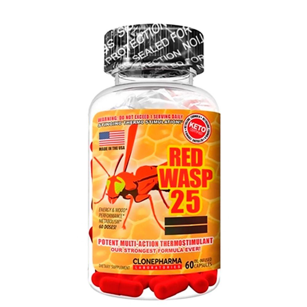 Red Wasp 25 60 caps Clone Pharma