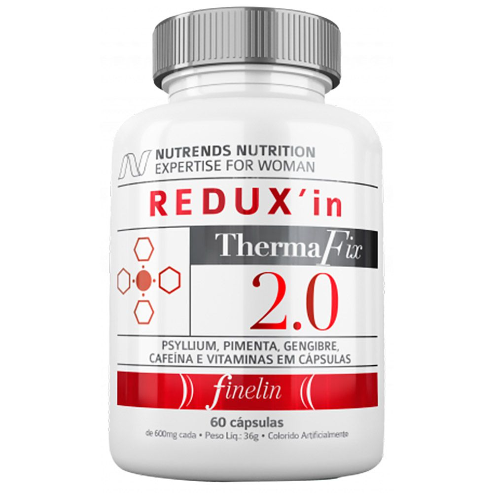 Redux'in 2.0 ThermaFix 600mg  60caps  Nutrends