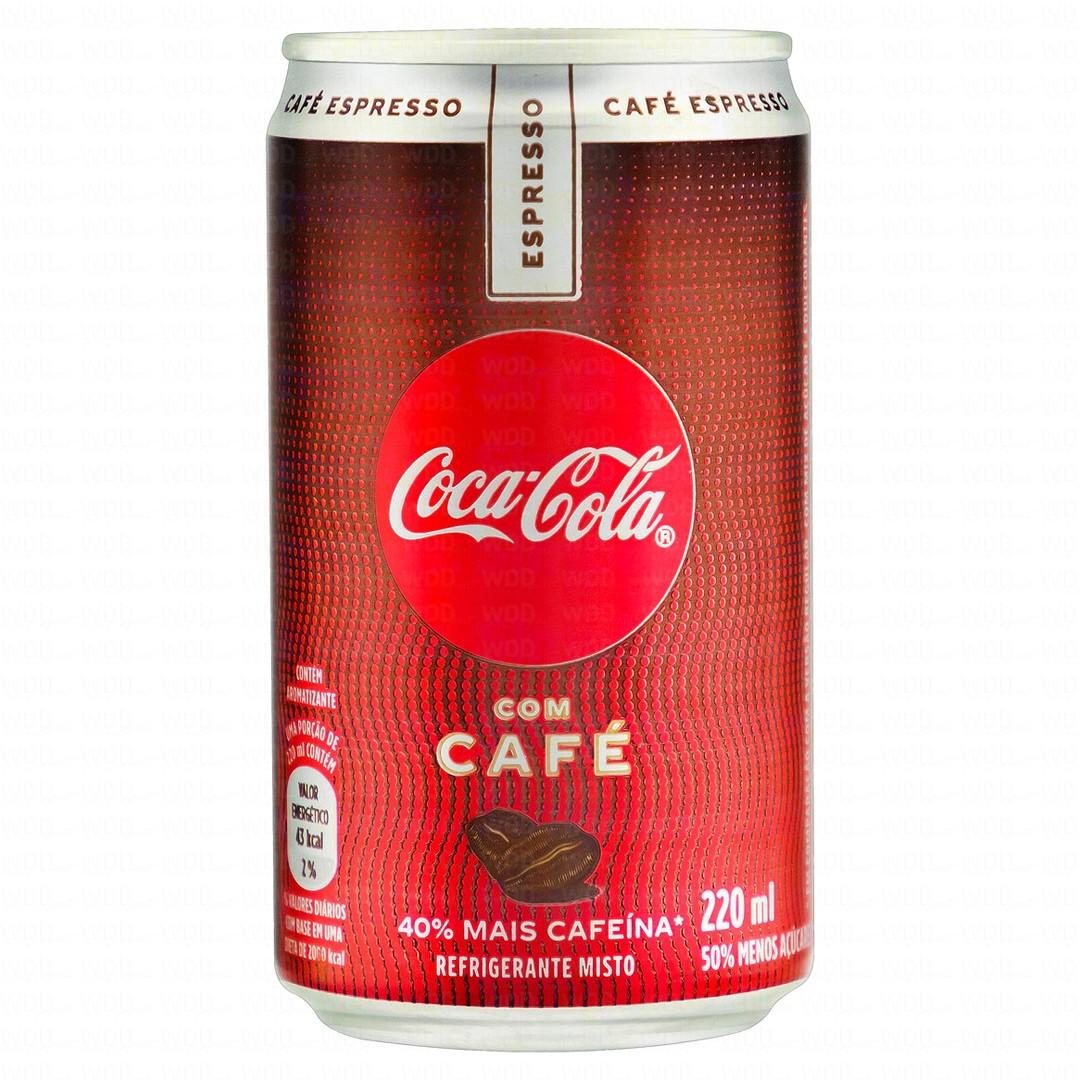 Refrigerante Coca Cola Café Plus Espresso 220ml