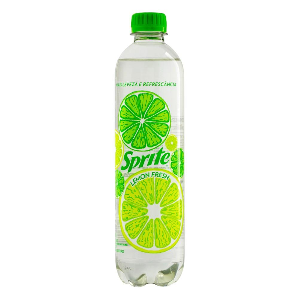 Refrigerante Lemon Fresh Sem Açúcar 510ml Sprite