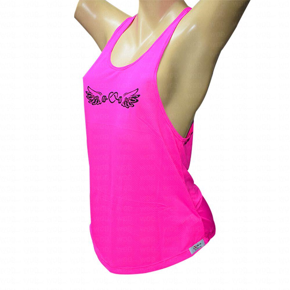 Regata DryFit Coração c/ Asa Extreme Fitness
