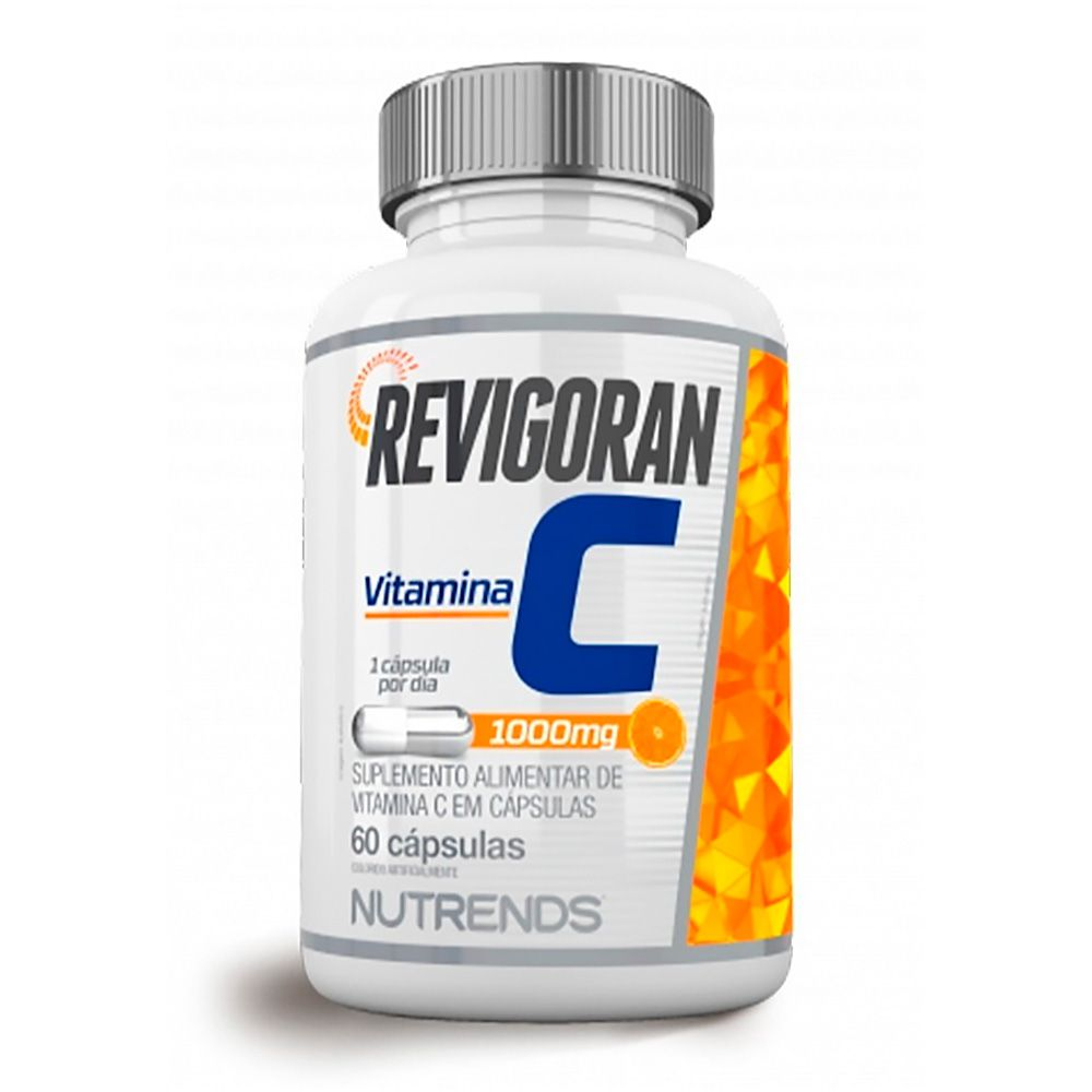Revigoran Vitamina C 1000mg Vegan 60caps Nutrends