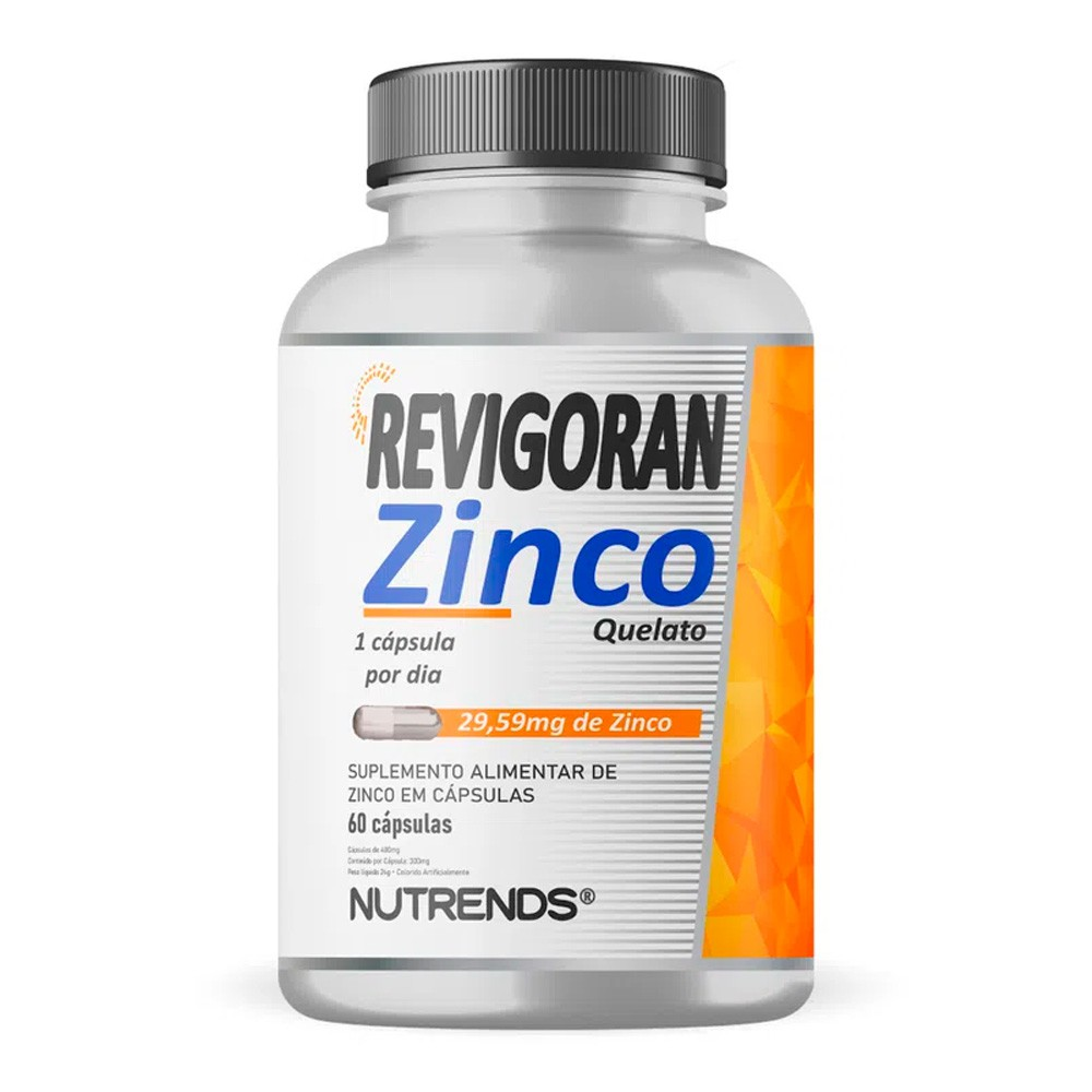 Revigoran Zinco Quelato 60 caps Nutrends