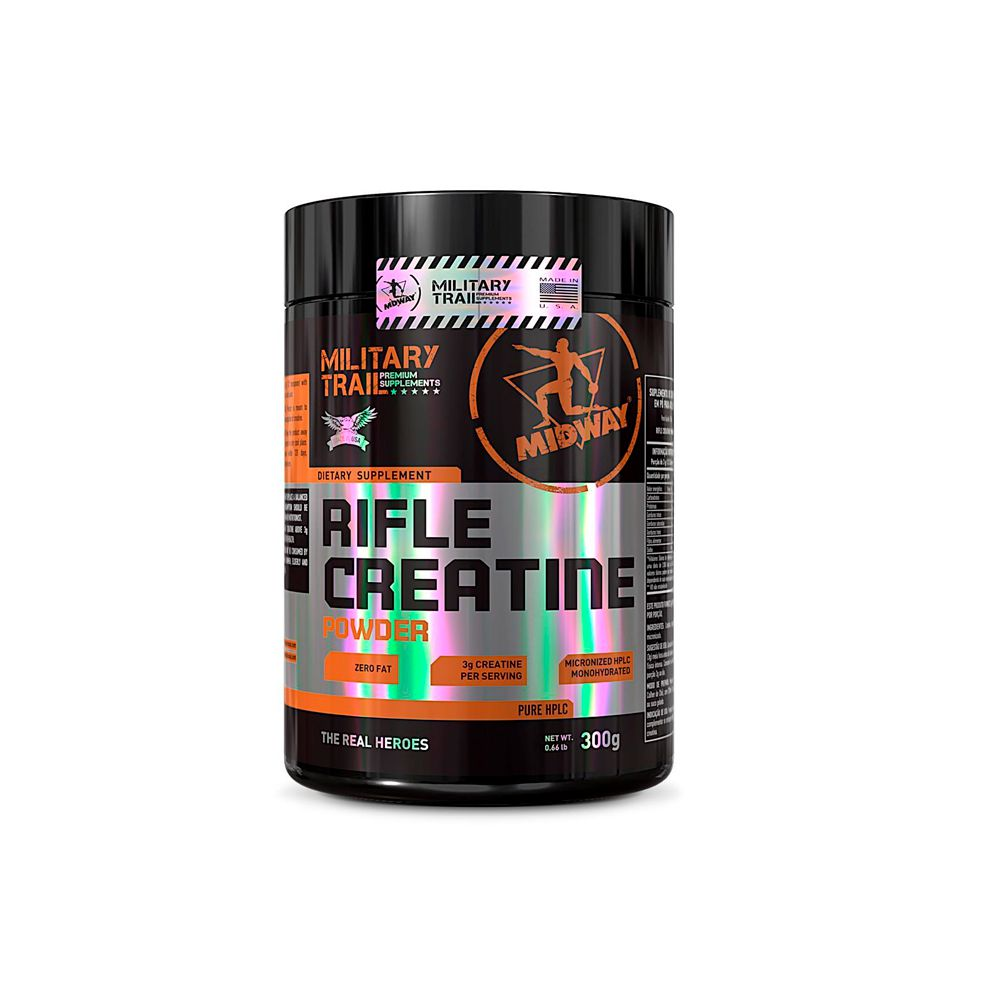 Rifle Creatine Powder 300g Military Trail Midway