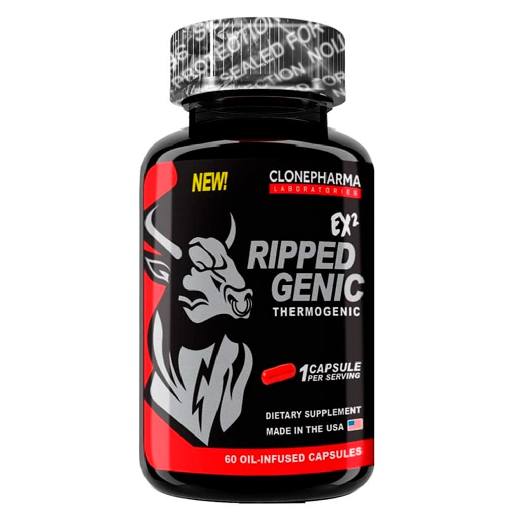 RippedGenic Thermogenic 60 caps Clone Pharma