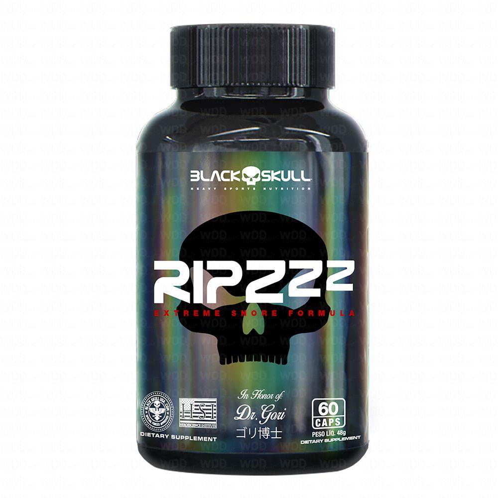 Ripzzz 60 caps Black Skull