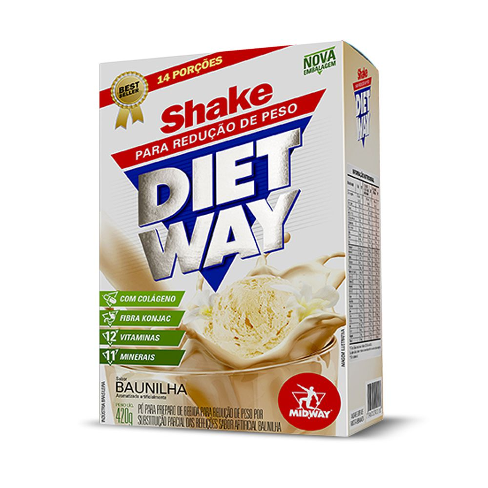 Shake Diet Way 420g Midway