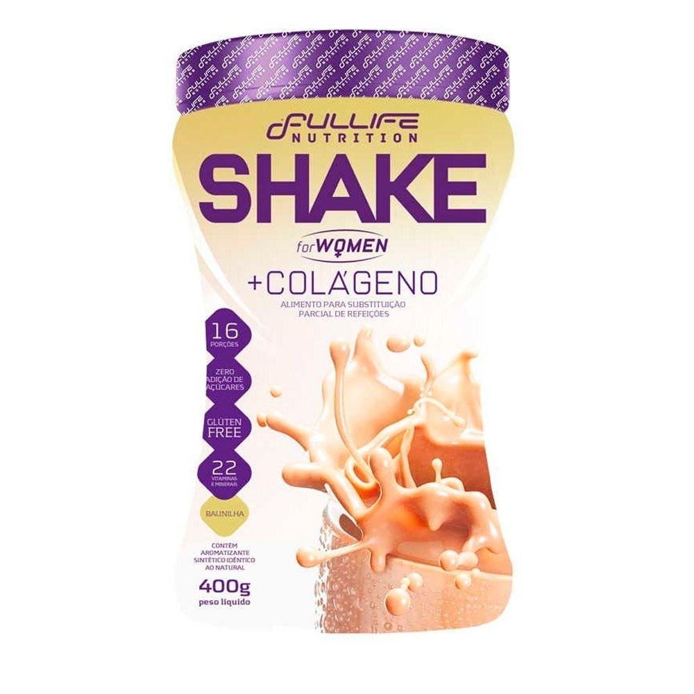 Shake For Woman + Colágeno 400g Fullife