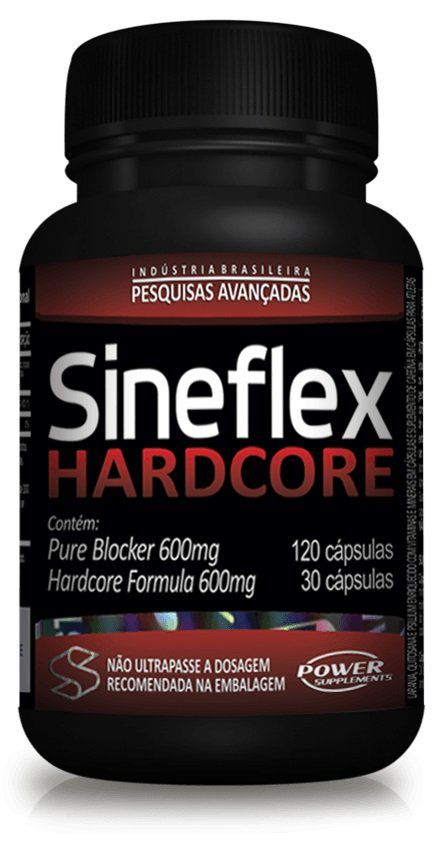 Sineflex HardCore Pure Blocker 120 caps Hardcore 30 caps Power Supplements