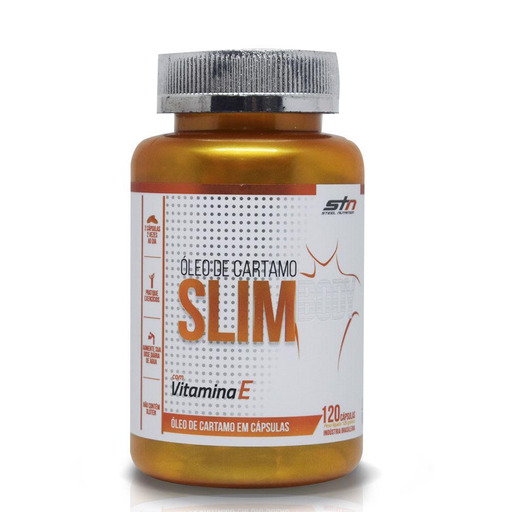 Slim Body Óleo de Cartamo 120 caps STN Steel Nutrition