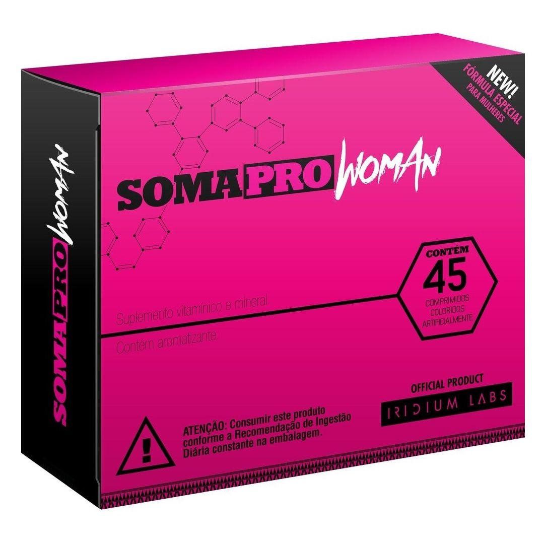 SomaPRO Woman 45 comprimidos Iridium Labs
