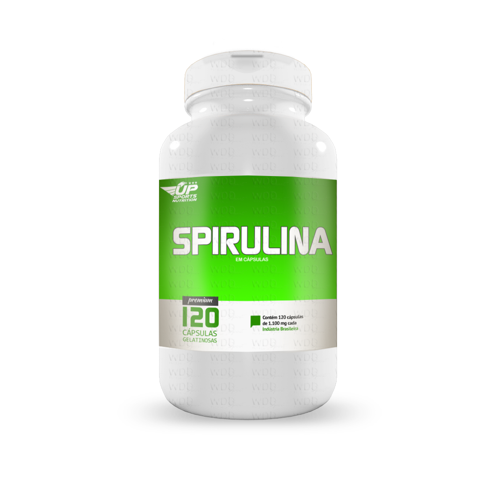 Spirulina 120 caps Up Sports Nutrition
