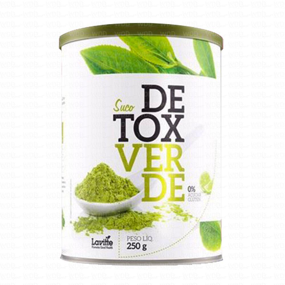 Suco Detox Verde 250g Lavitte
