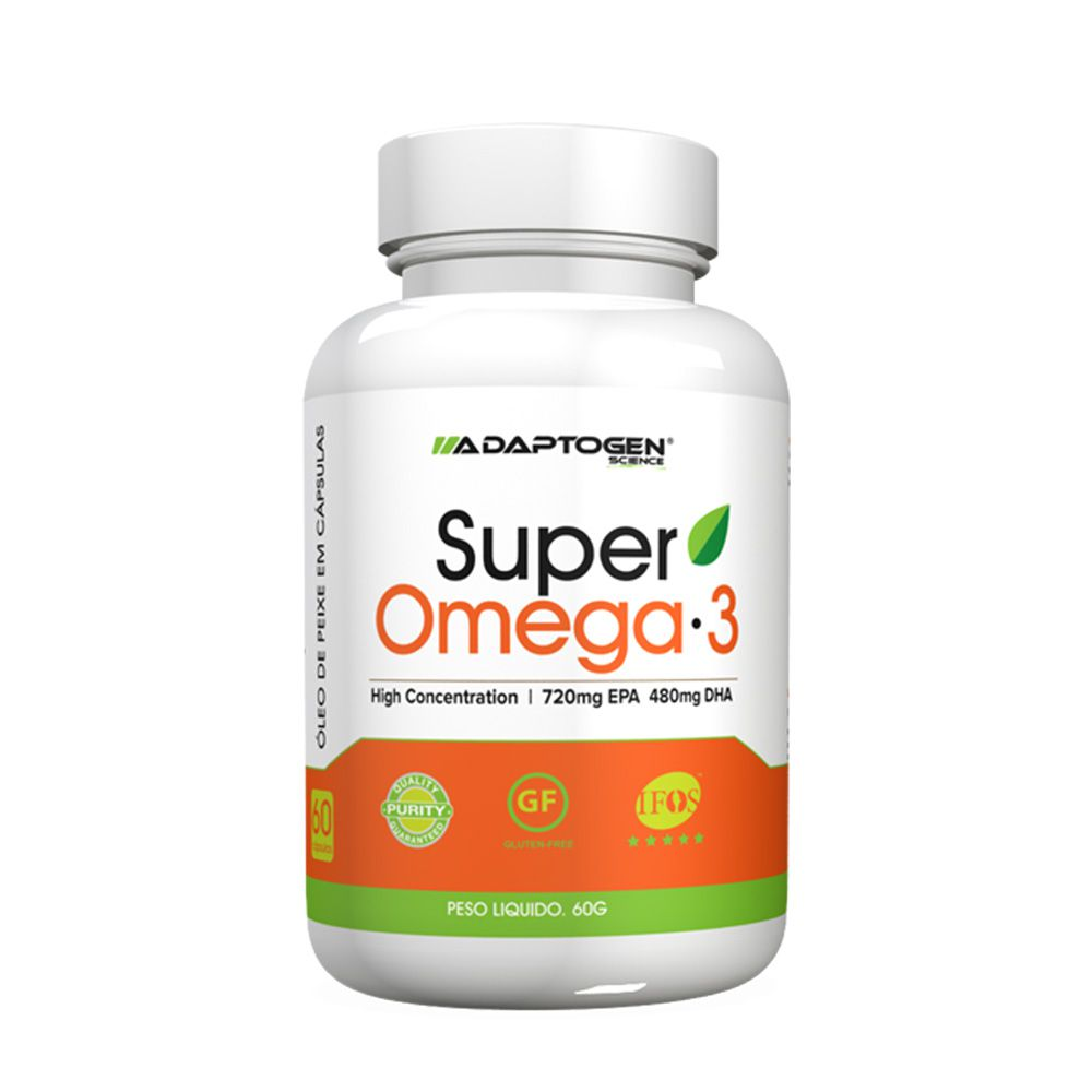 Super Ômega 3 60 caps Adaptogen