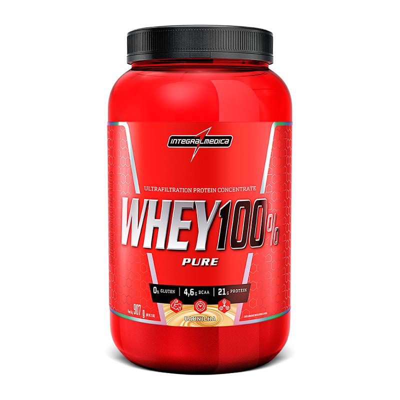 Super Whey 100% Pure 907g Integralmedica