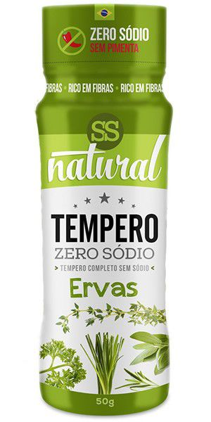 Tempero Zero Sódio 50g SS Natural