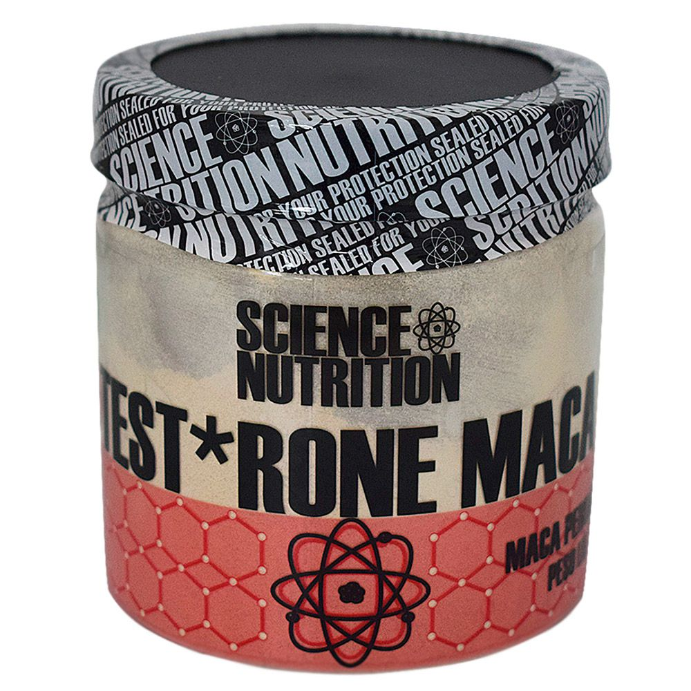 Test Rone Maca 250g Science Nutrition