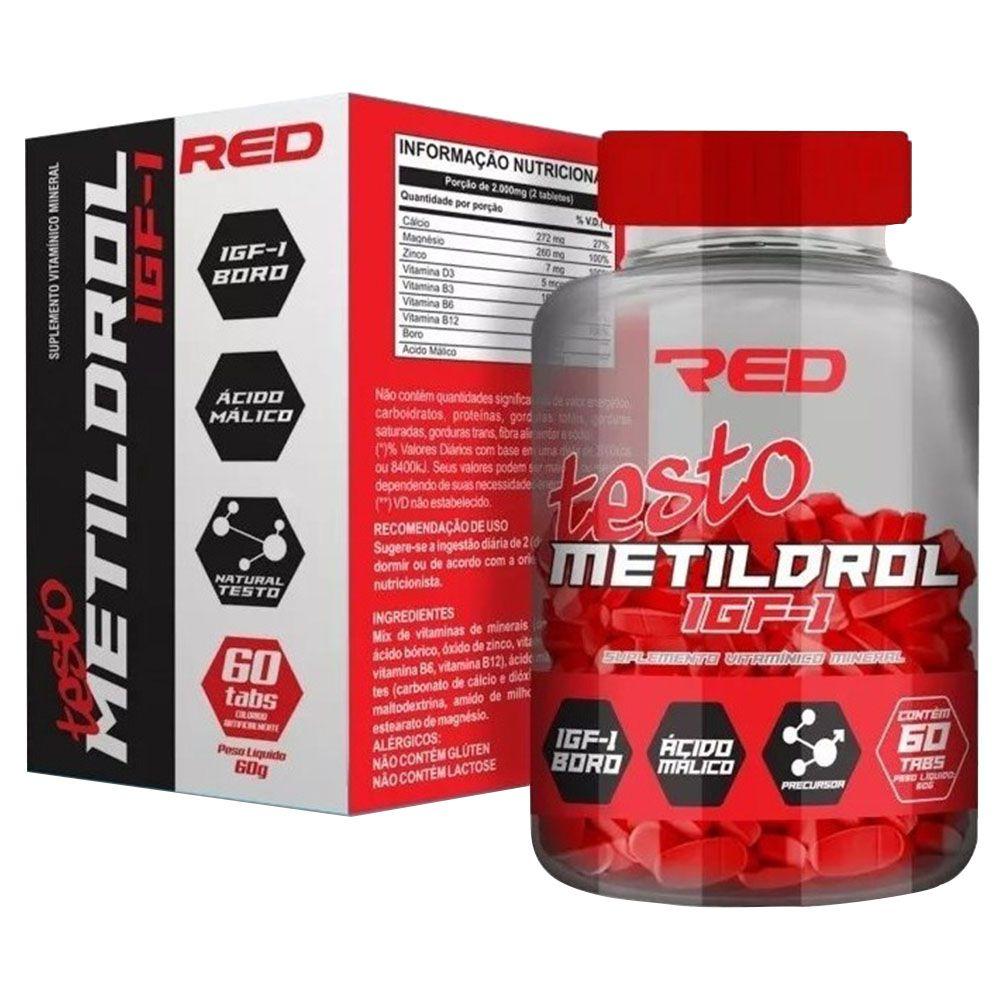 Testo Metildrol IGF-1 60tabs Red Series