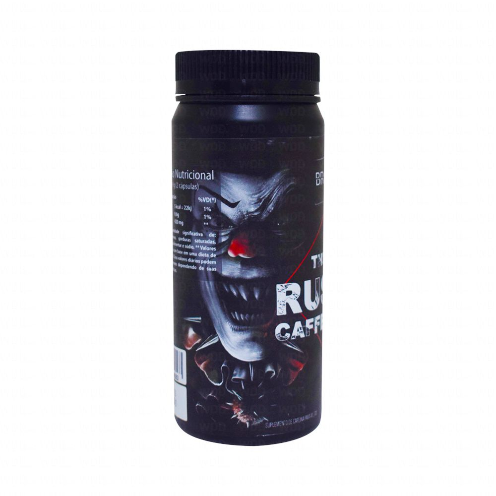 Thermo Rush Caffeine 420mg 120 Caps Broken Quality Nutrition