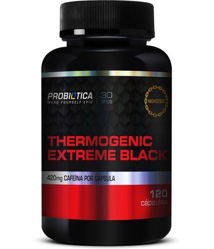 Thermogenic Extreme Black 120caps Probiótica