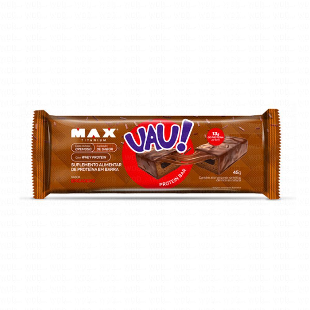 UAU Protein Bar Unidade (45g) Max Titanium
