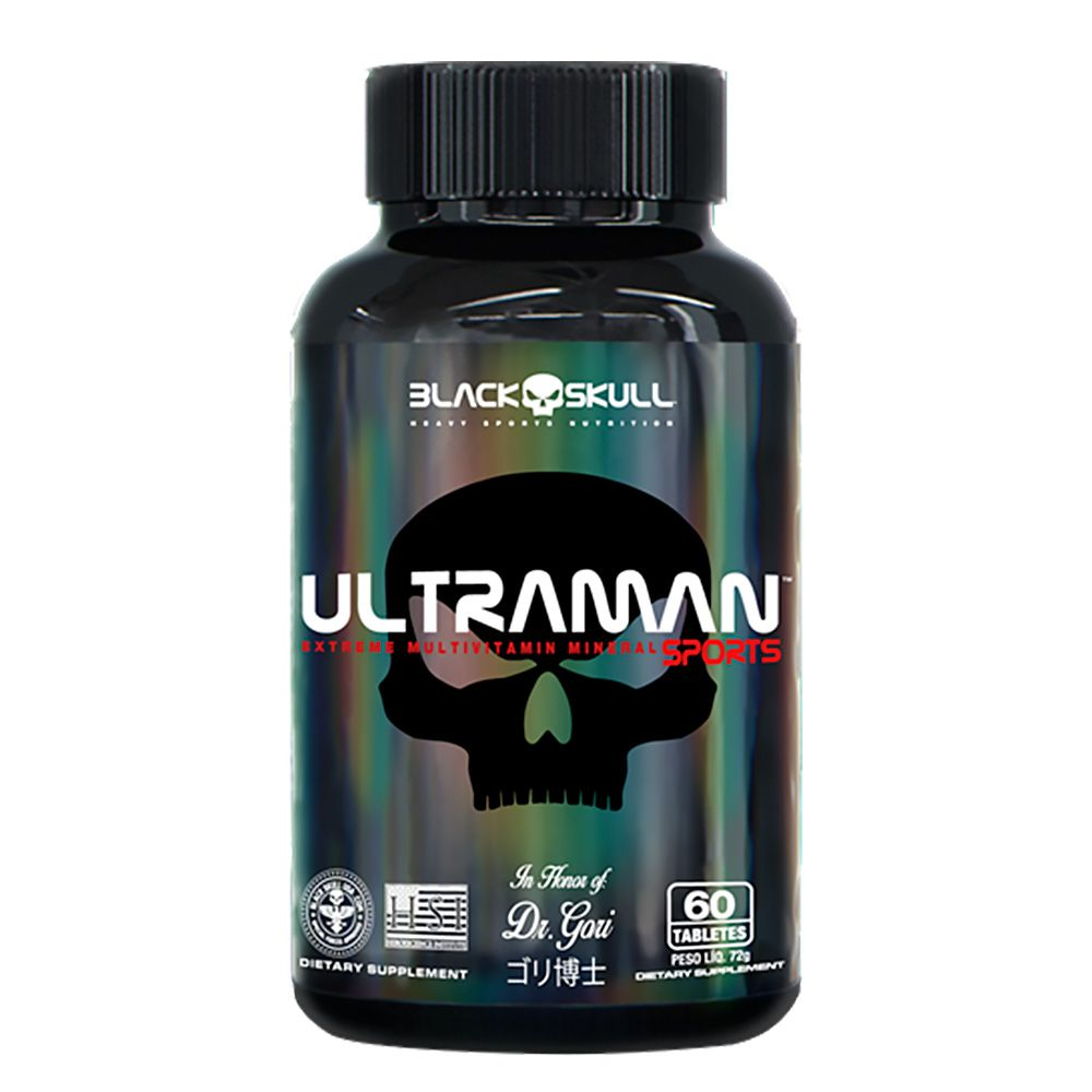 Ultraman 60Caps Black SKull