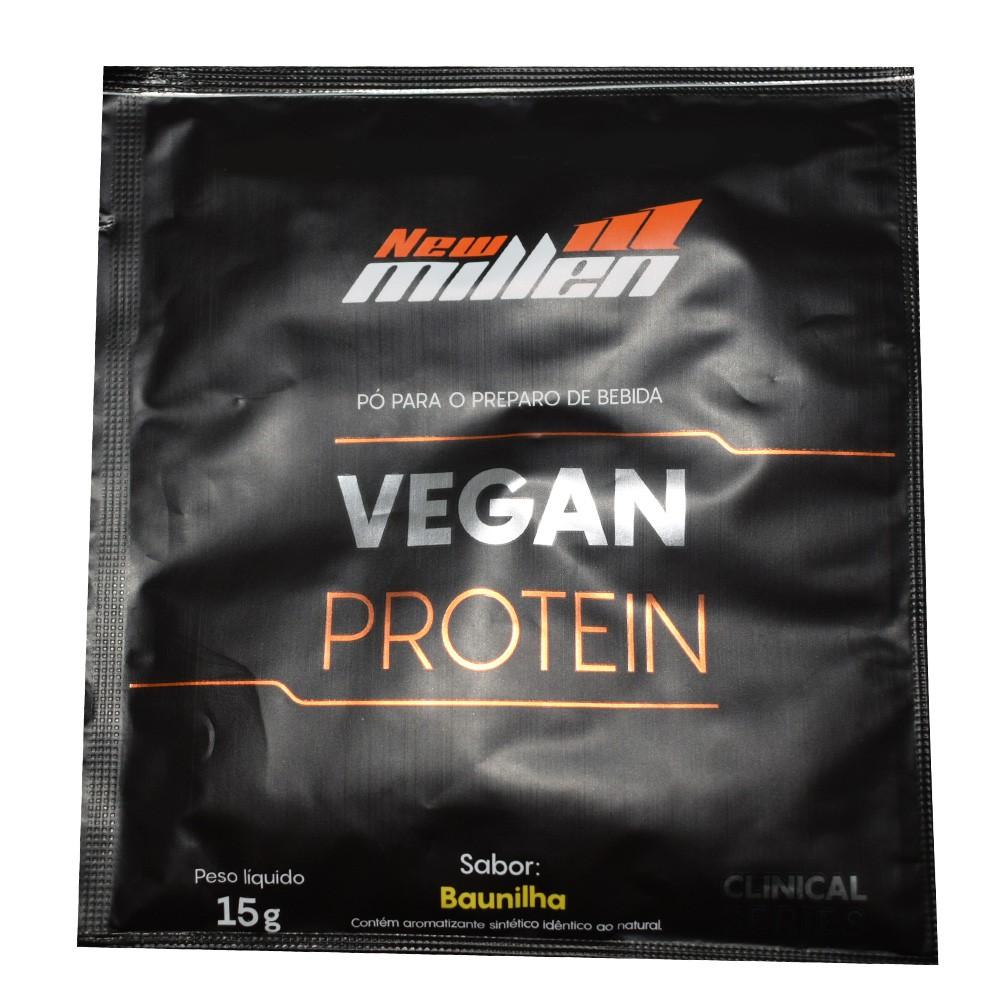 Vegan Protein Sachê 15g New Millen