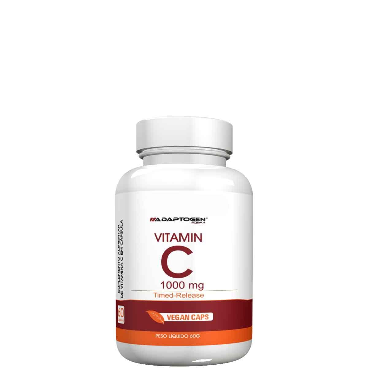 Vitamin C 1000mg 60 caps Adaptogen