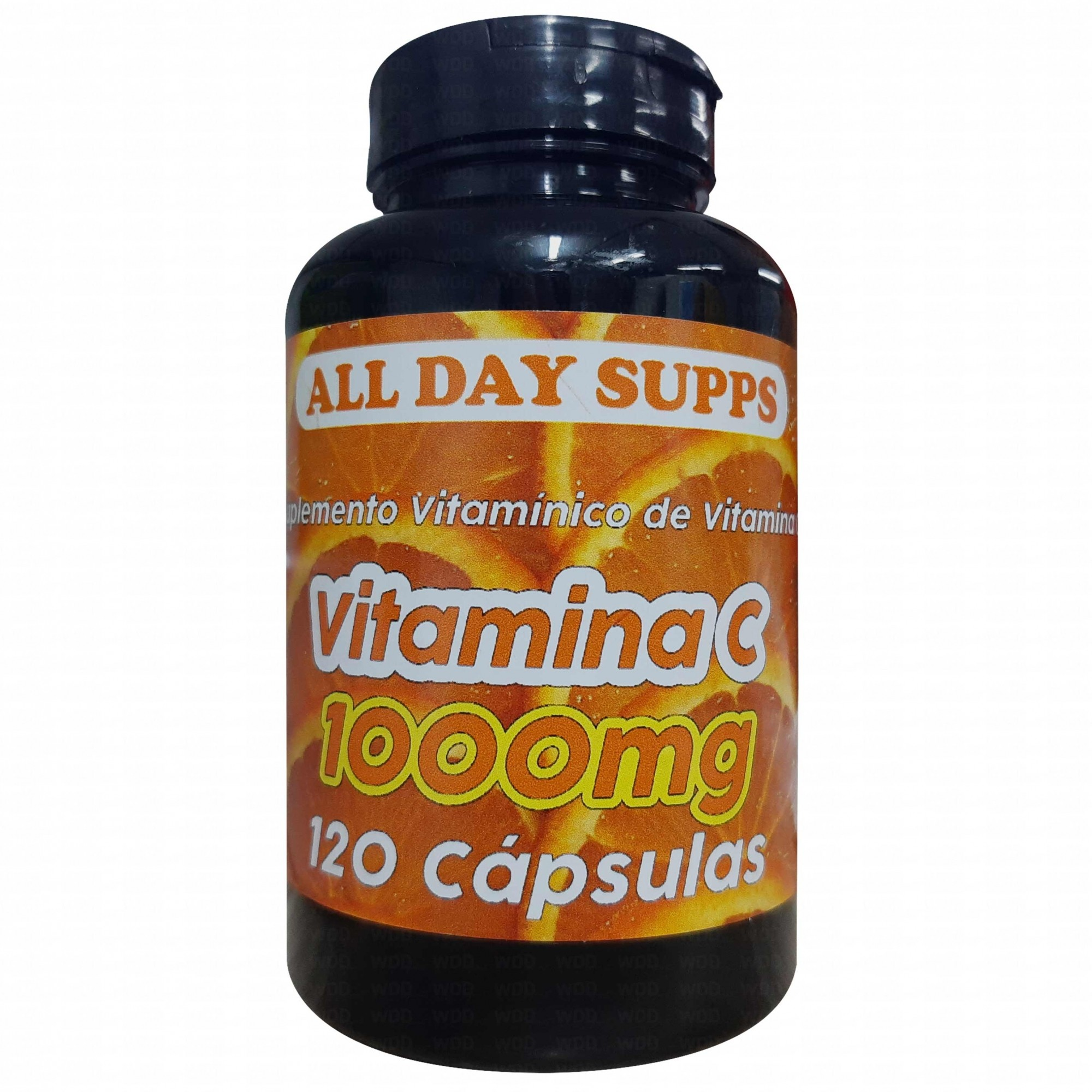 Vitamina C 120caps All Day Supps