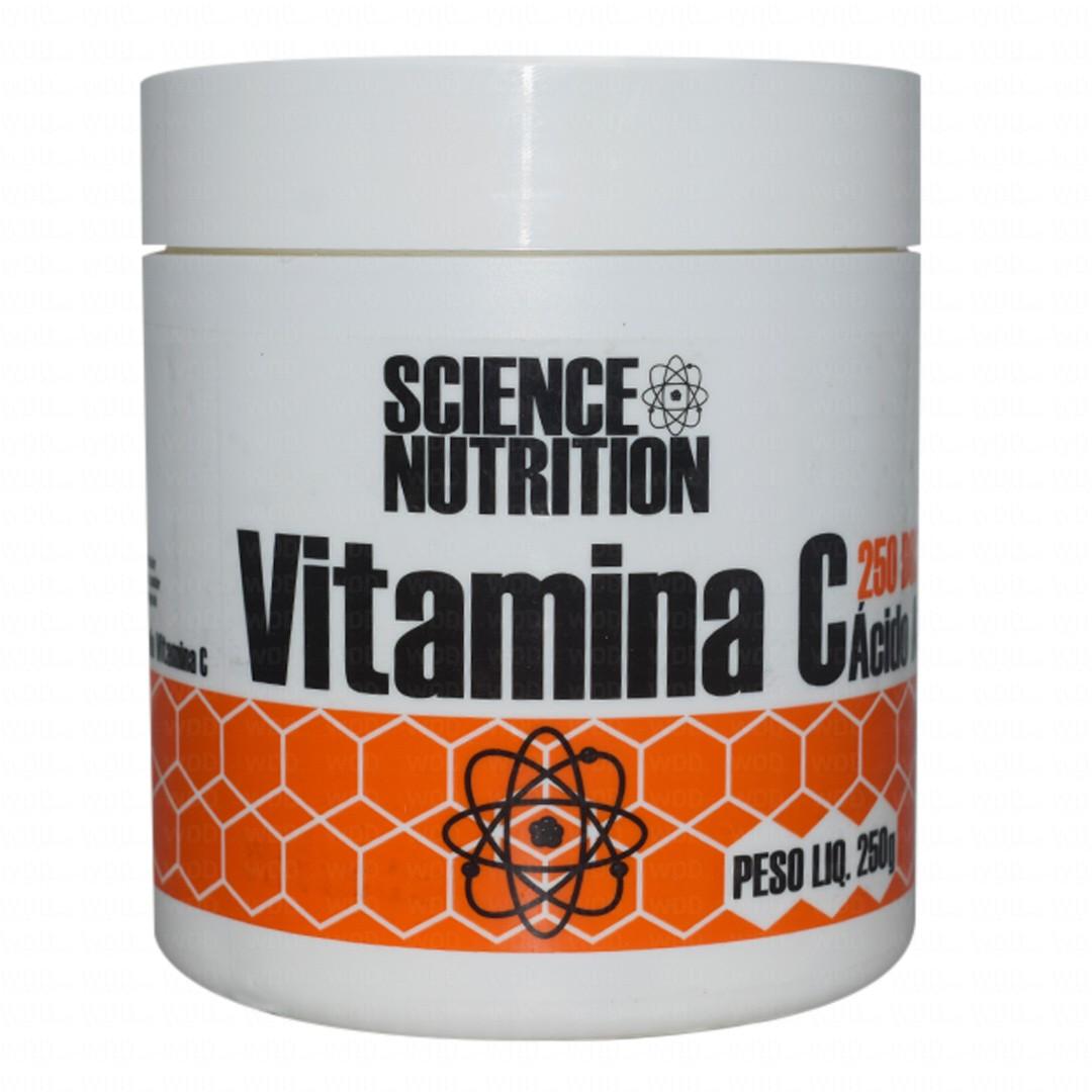Vitamina C 250g Science Nutrition