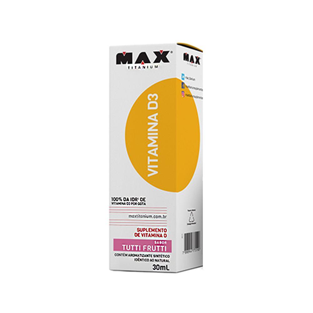 Vitamina D3 Max Titanium