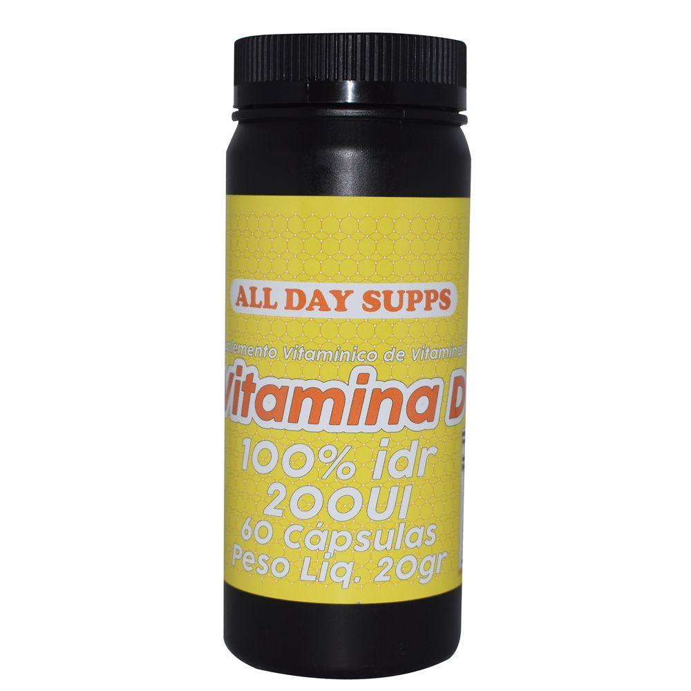 Vitamina D 60caps  All Day Supps