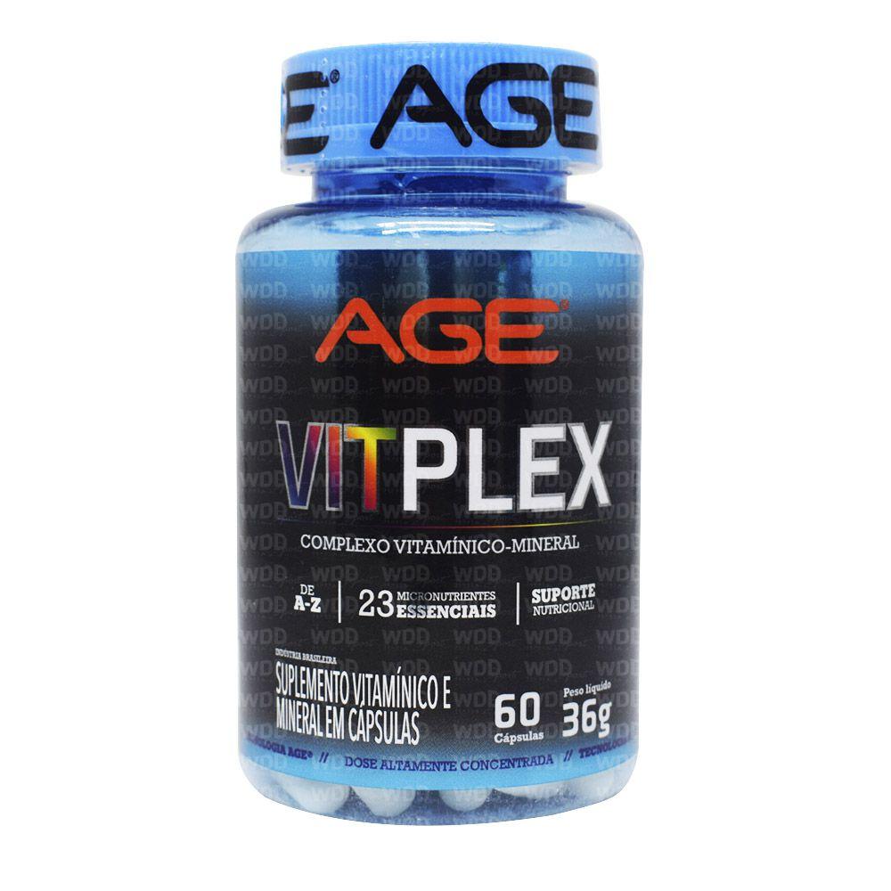 VitPlex Complexo Vitamínico 60 caps Age Nutrilatina