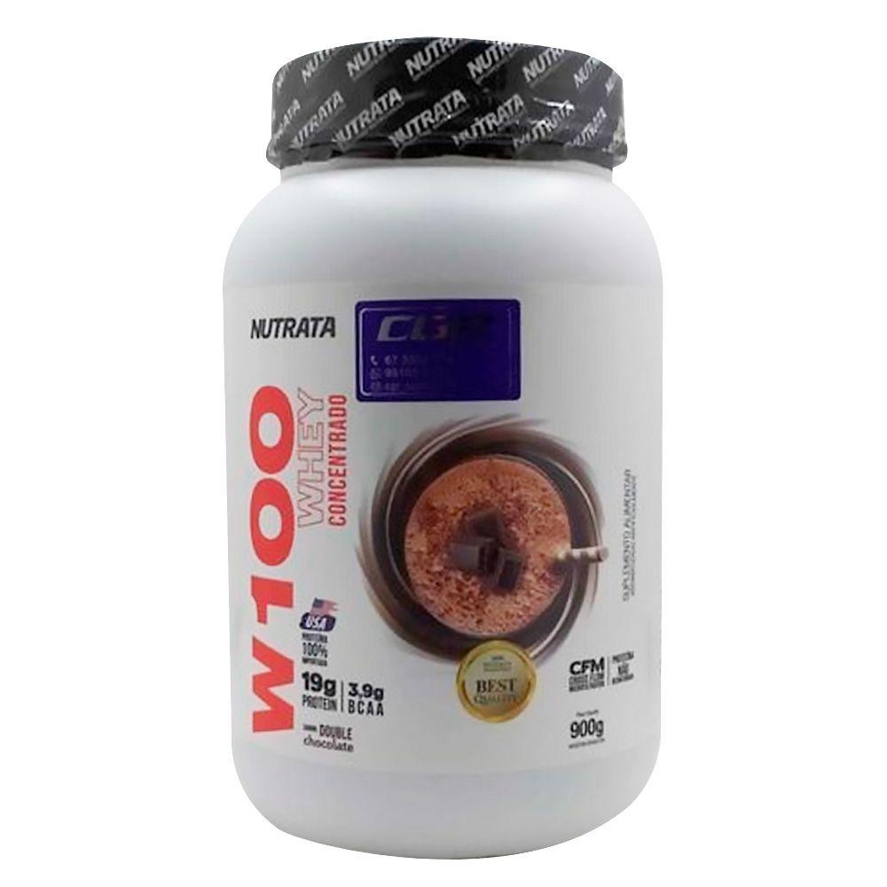 W100 Whey Cocentrado 900g Nutrata