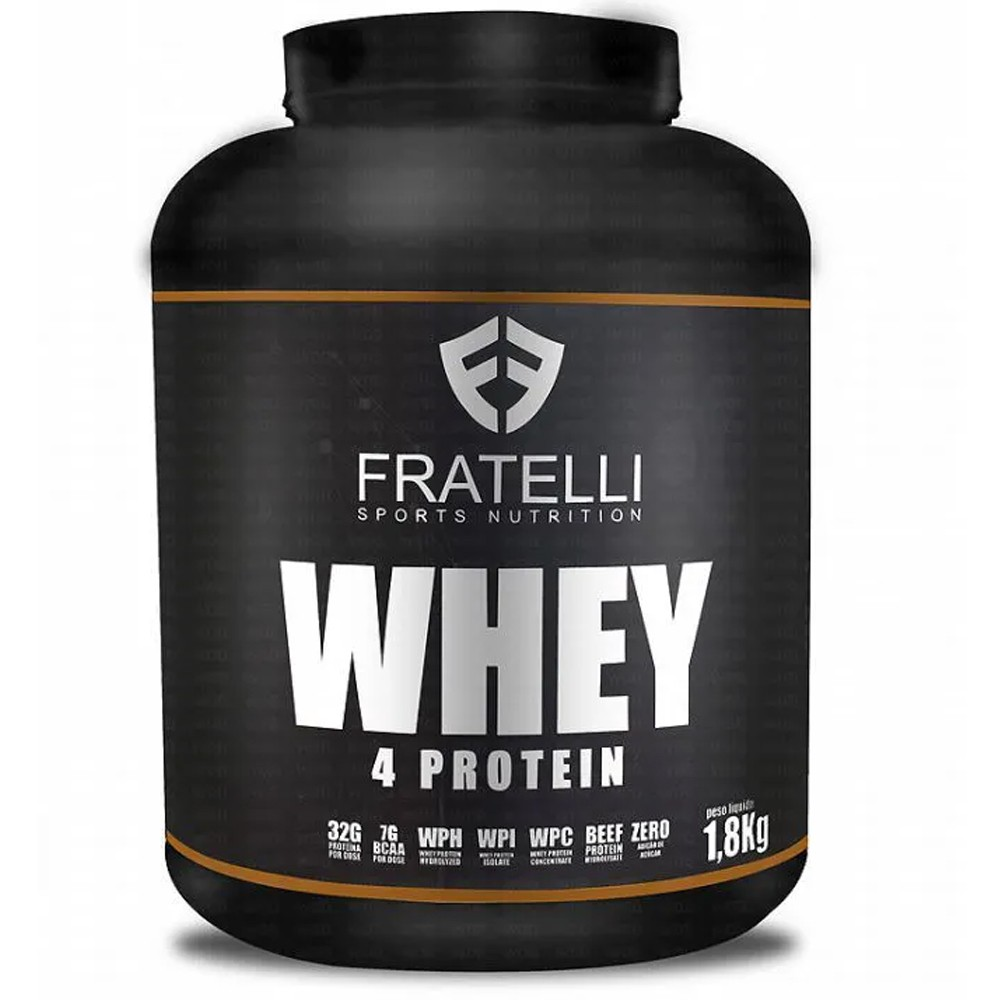 Whey 4 Protein 1,8Kg Fratelli