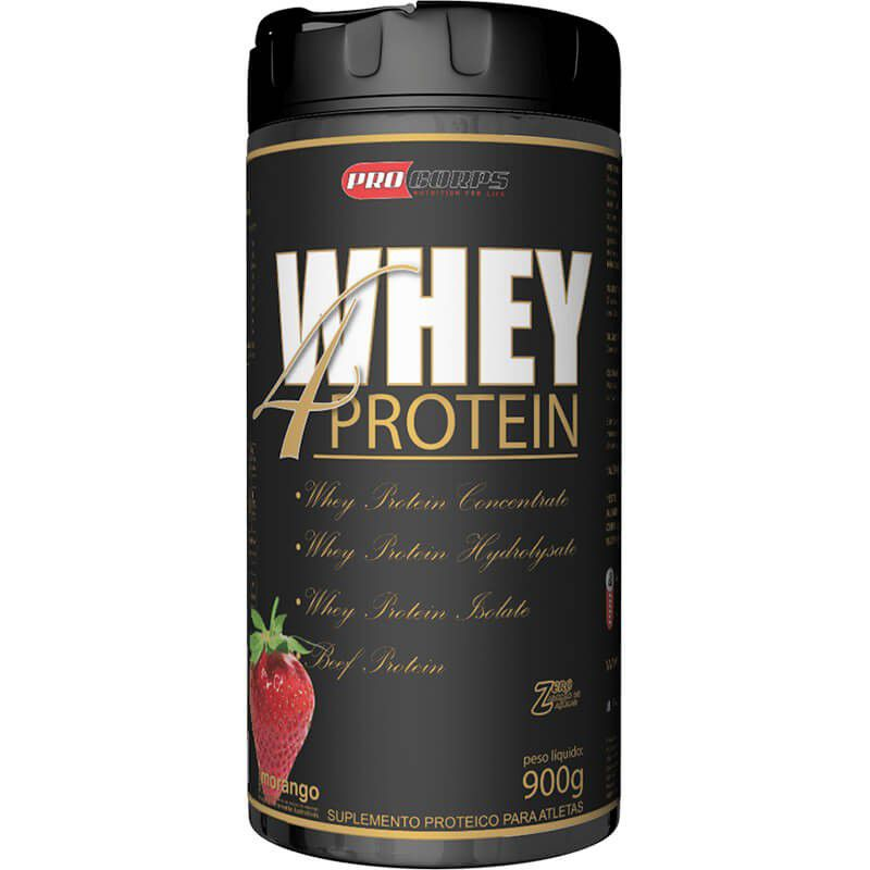 Whey 4 Protein 900g Pro Corps