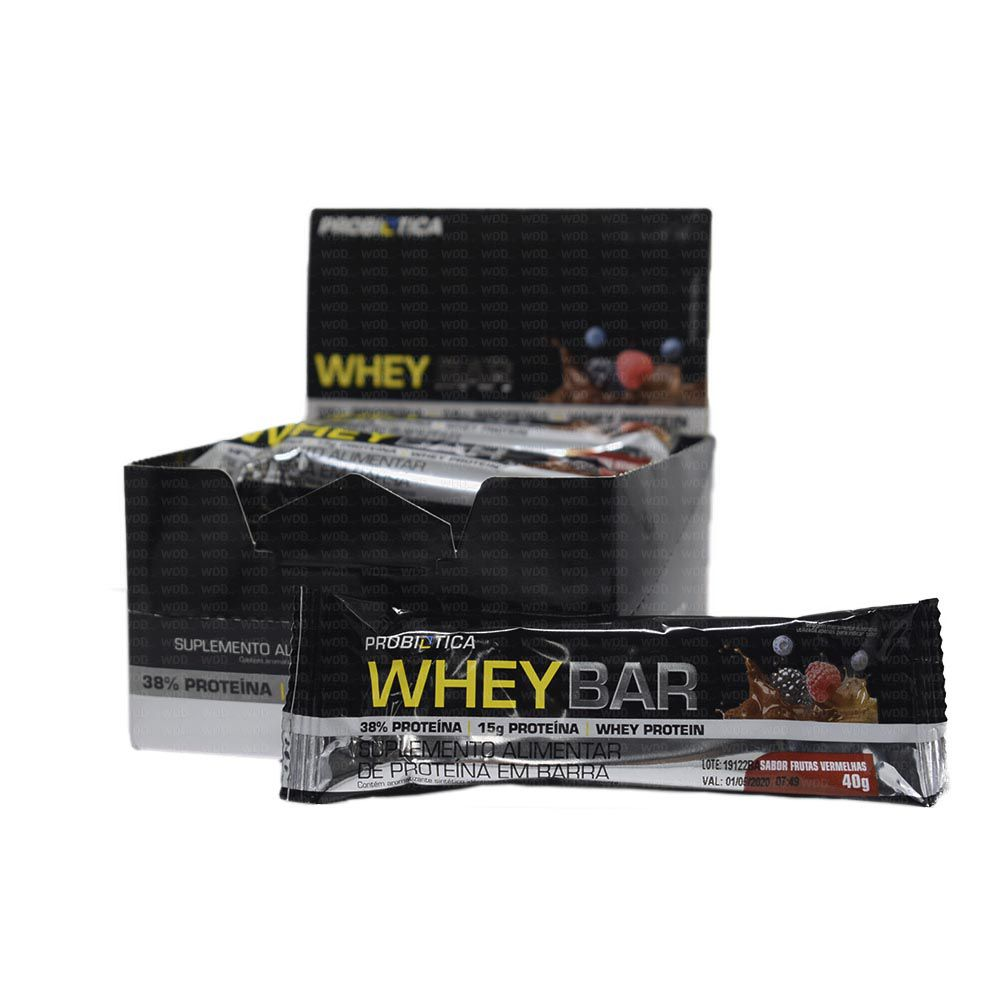 Whey Bar Cx C/12und de 40g Probiotica