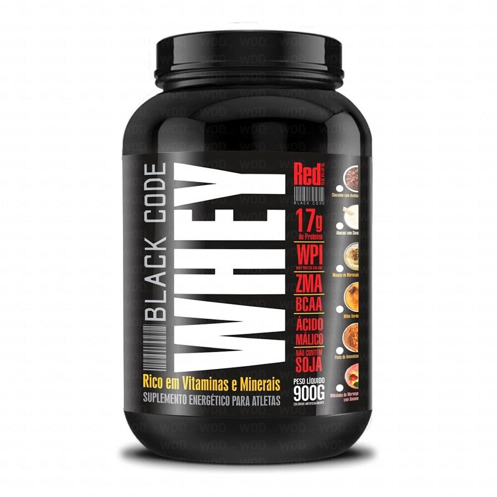 Whey Black Code 900g Red Series