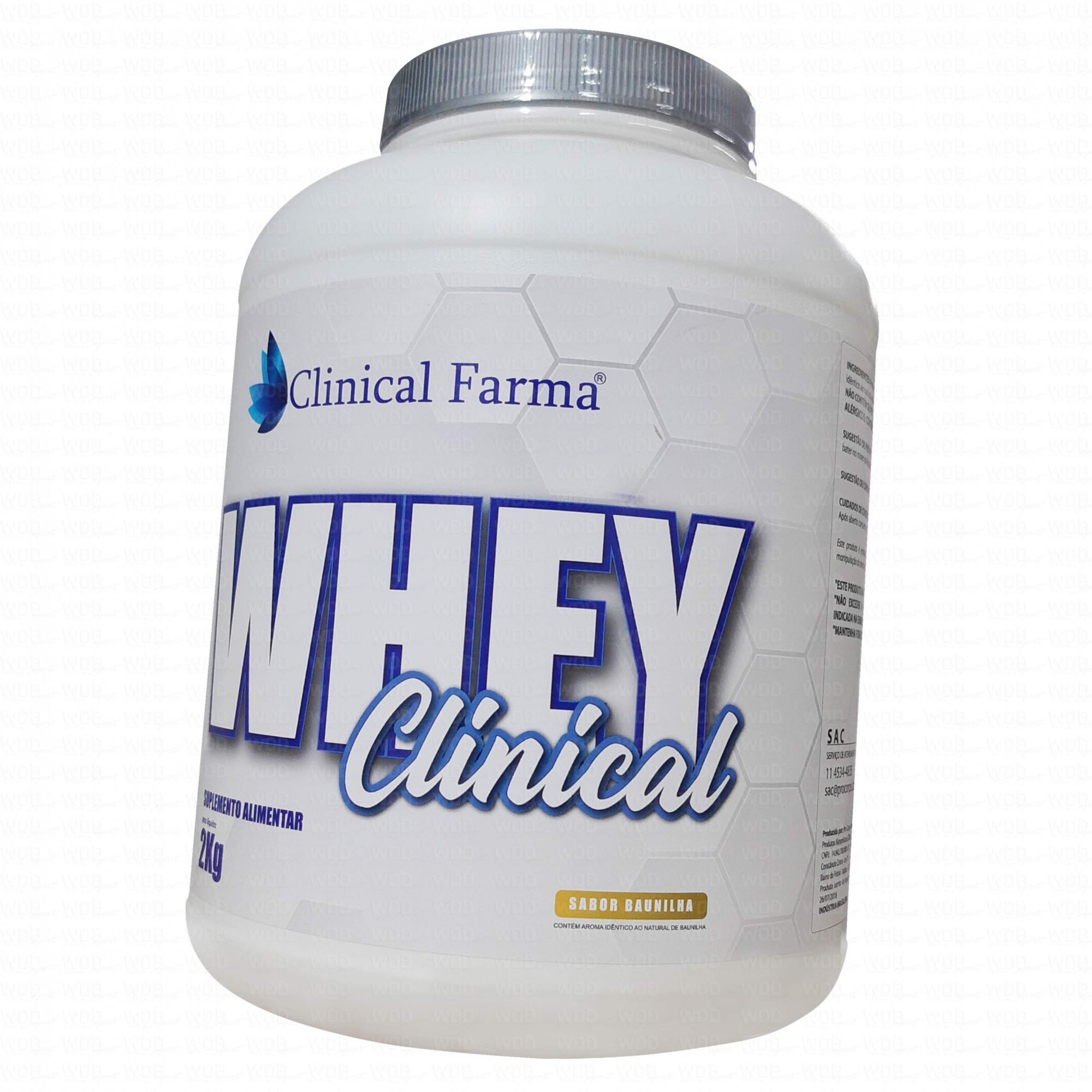 Whey Clinical 2Kg Clinical Farma